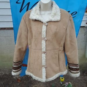 Coldwater Creek Winter Coat Women's size small
